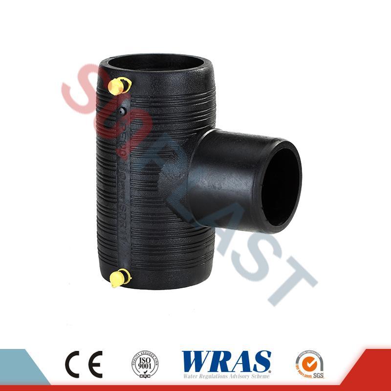 HDPE Elektrofüzyonu Eşit Tee