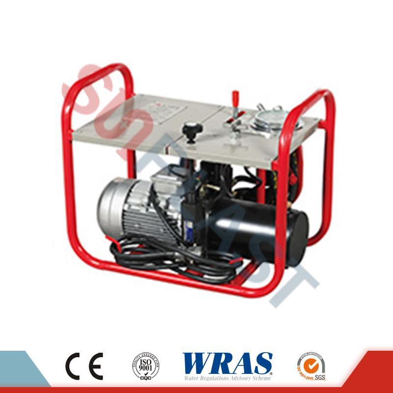 HDPE Boruları üçün 90-250mm Hidravlik Butt Fusion Qazma Makinası