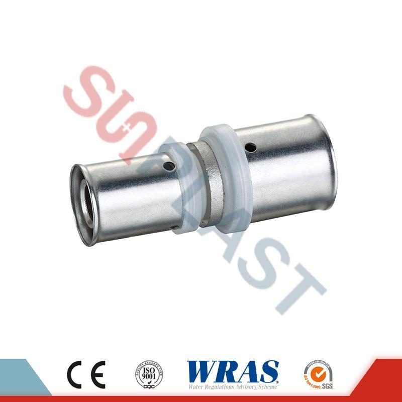 PEX-AL-PEX Pipe Press Reducing Coupling