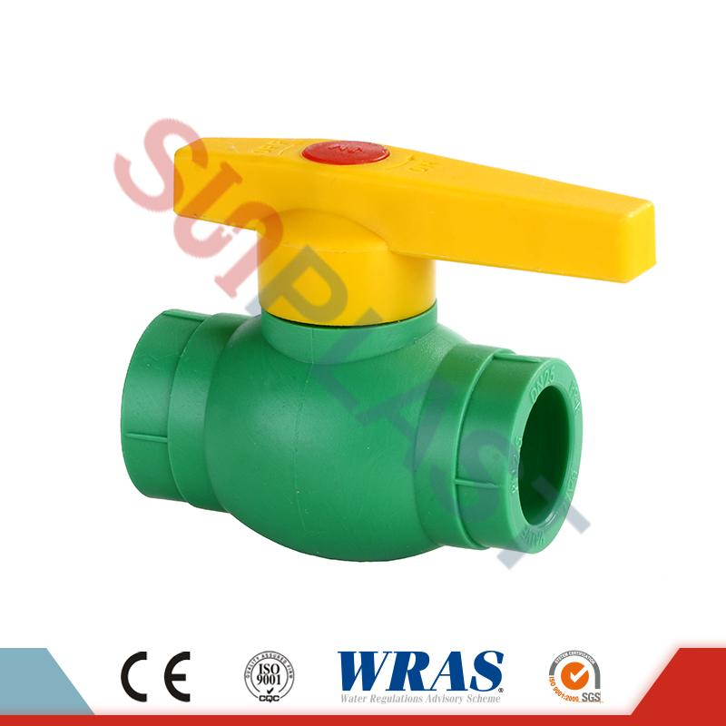 Green PPR Ball Valve